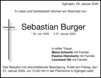 Anzeige Sebastian  Ott